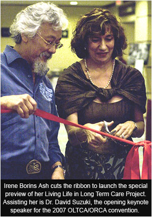 Irene Borins Ash and David Suzuki