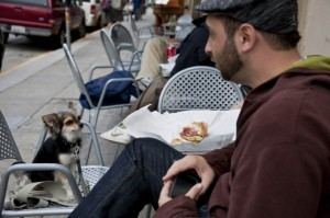 Having Lunch and Love, North Beach, San Francisco