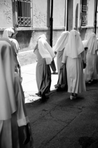 Nuns in Assissi