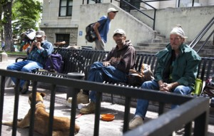 Homeless Men, Prescott, Arizona
