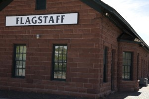 Train Station, Flagstaff, Arizona
